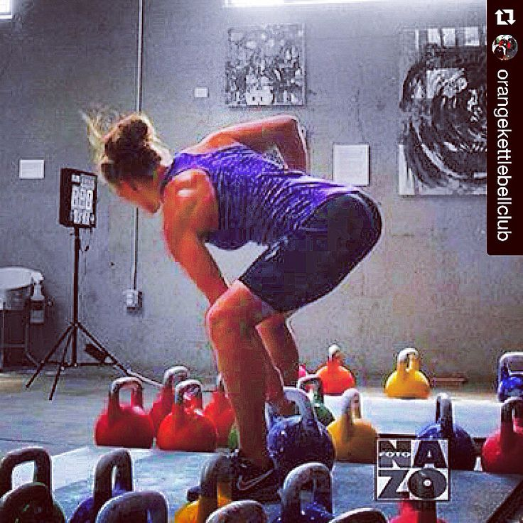 Pretty cool pic here, feels like something big is about to happen ・・・ From @orangekettlebellclub  and @kbfitbritt with 20kg. #kettlebell #kettlebells #kettlebellsport #kettlebellworkout #strength #homegym #garagegym #crossfit #girlswholift #muscle