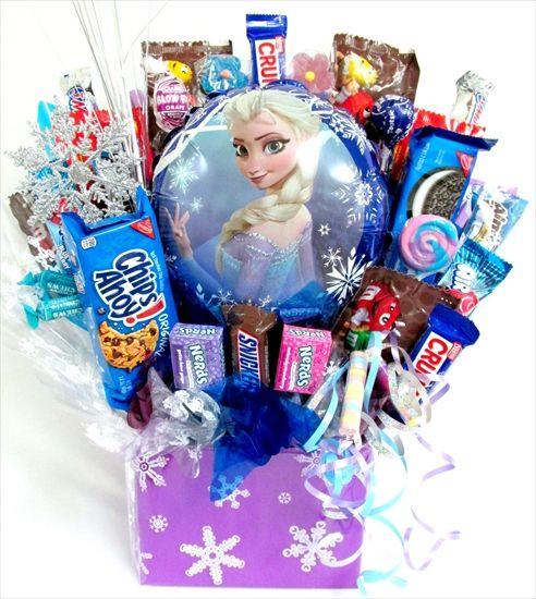 Frozen Candy Bouquet!