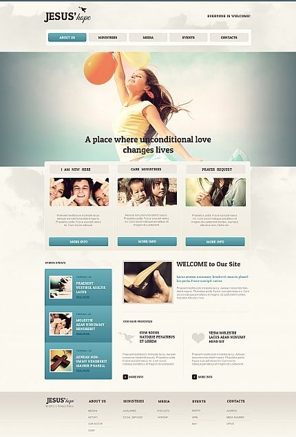 charity moto cms html template ab websitelife websitewebsite ideaswebsite designcreative - Church Website Design Ideas