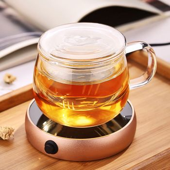 Portable Electric Desktop Coffee Warmer Tea Coffee Milk Heater Cup Mug Warmer Warming Trays