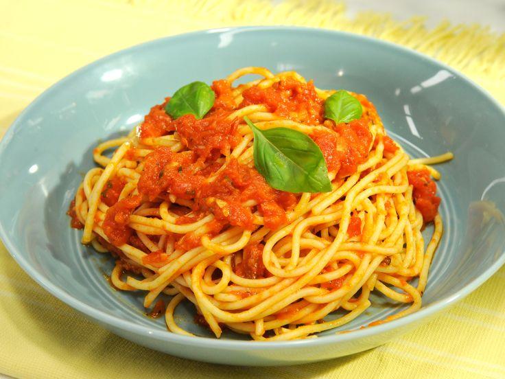 Homemade Marinara Sauce Recipe : Katie Lee : Food Network ...