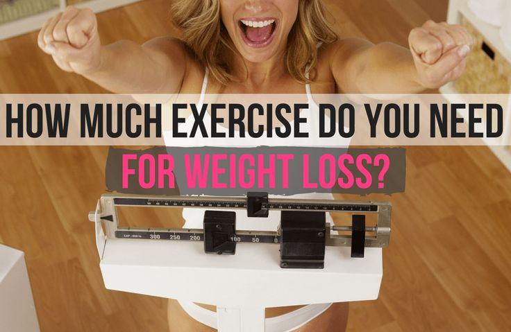 How Much Exercise Do You REALLY Need to Lose Weight?