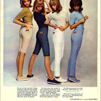 17 Best images about DENIM TREND- 1960 on Pinterest | Models Youth and Bell bottoms