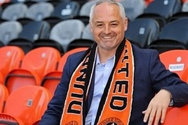 Dundee United confirm Ray McKinnon as manager on three-year deal ...