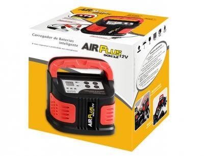 Carregador Veicular para Bateria 12V - Schulz Air Plus com as melhores condições você encontra no Magazine Edyeely. Confira!