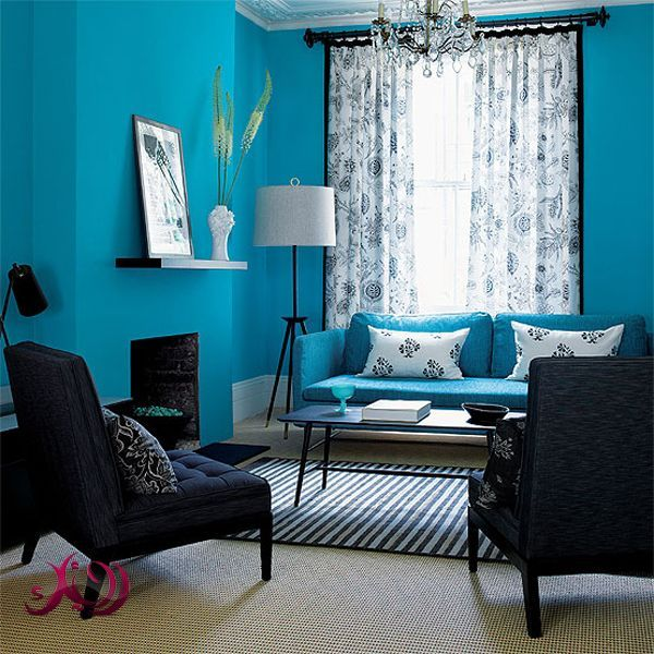 15 best Aqua Living Rooms images on Pinterest Living room colors