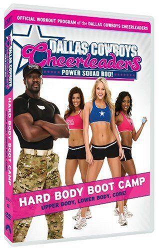 Dallas Cowboys Cheerleaders: Power Squad Bod! - Hard Body Boot Camp DVD ~ Dallas Cowboys Cheerleaders, http://www.amazon.com/dp/B002HK9IN6/ref=cm_sw_r_pi_dp_kYbRqb1CQW66Y
