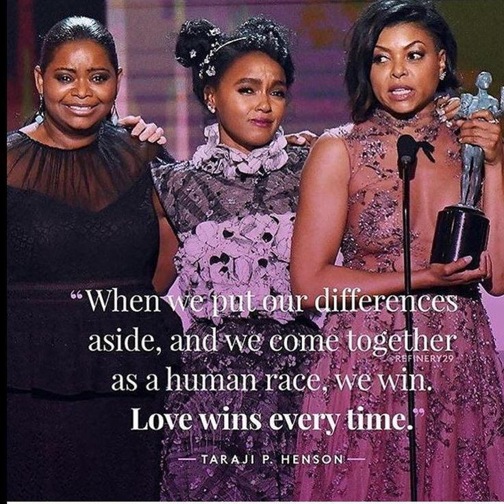 "2 Fro Chicks — Hidden Figures cast wins SAG award  ✨  ""Love wins..."