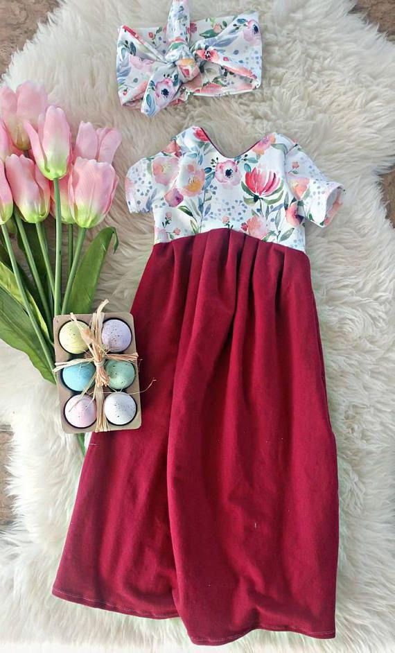 This baby maxi dress is perfect for spring 🌷🌱
