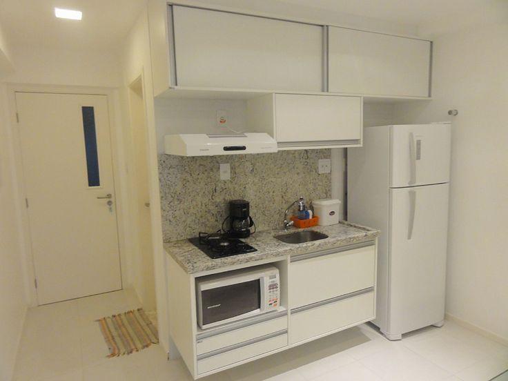 Интерьер квартиры-студии 36 м в Бразилии