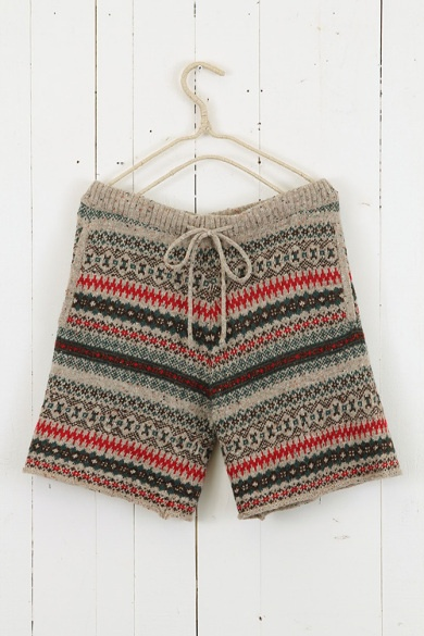 """""""fair isle short pants ++ niko and..."""" from original pinner.  Anyway, I love these!"""