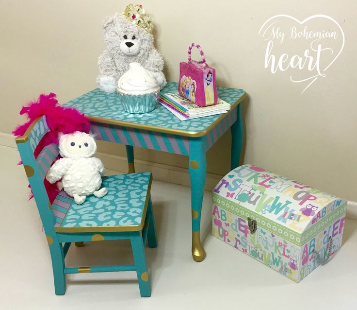 painted kids furniture. hand painted custom childrenu0027s table and by mybohemianheartco kids furniture e