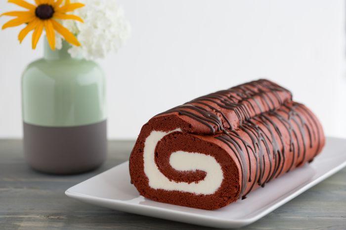 Red Velvet cakerol recept | Dr.Oetker
