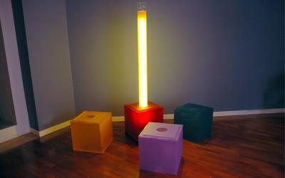 tocchi di luce colorata