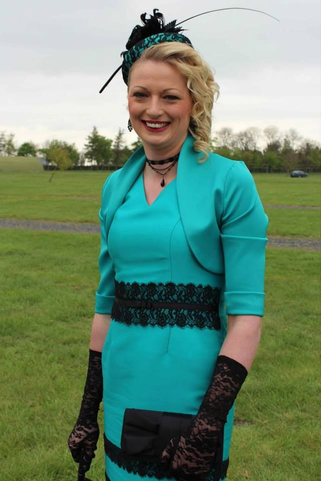JHK Millinery at Punchestown Racecourse, Ireland, Spring 2014.