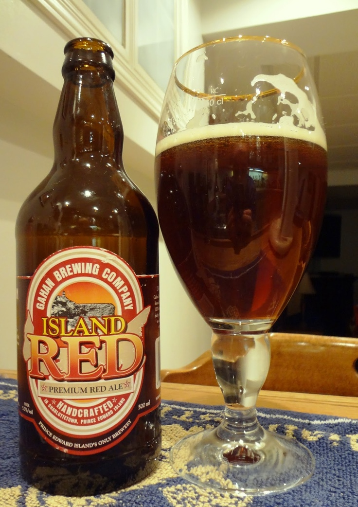 Gahan Brewery  Island Red  P.E.I. Canada