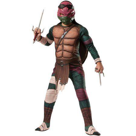 Teenage Mutant Ninja Turtles Raphael Child Halloween Costume, Kids Unisex, Size: S (4-6), Multicolor