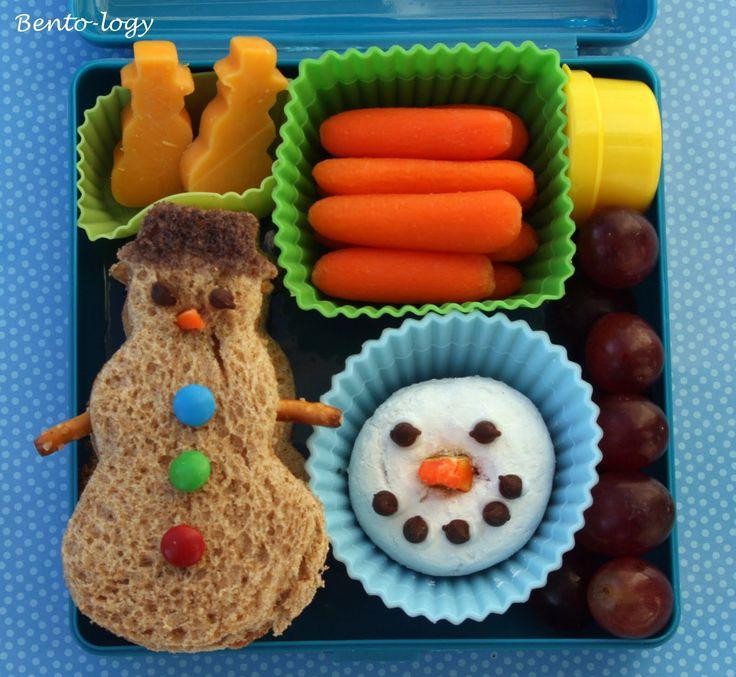 Bento-logy: Snowmen!