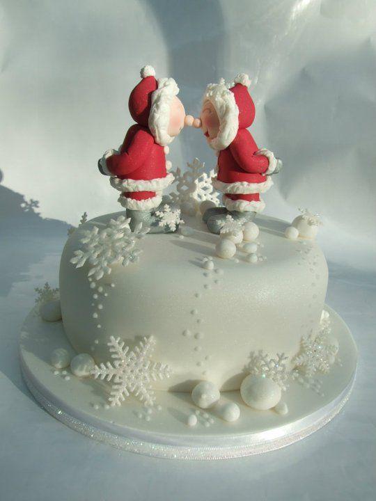 Emma Jayne Cake Design #christmascakes