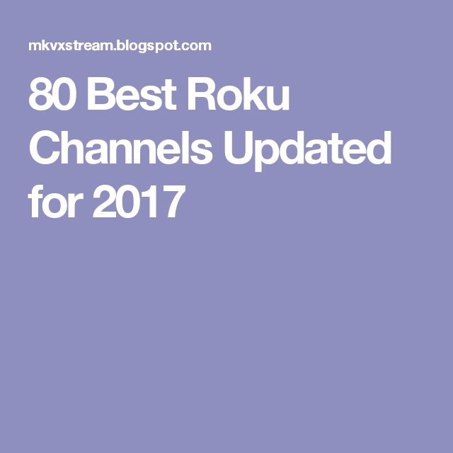 14 best roku images on Pinterest Cable tv alternatives, Channel