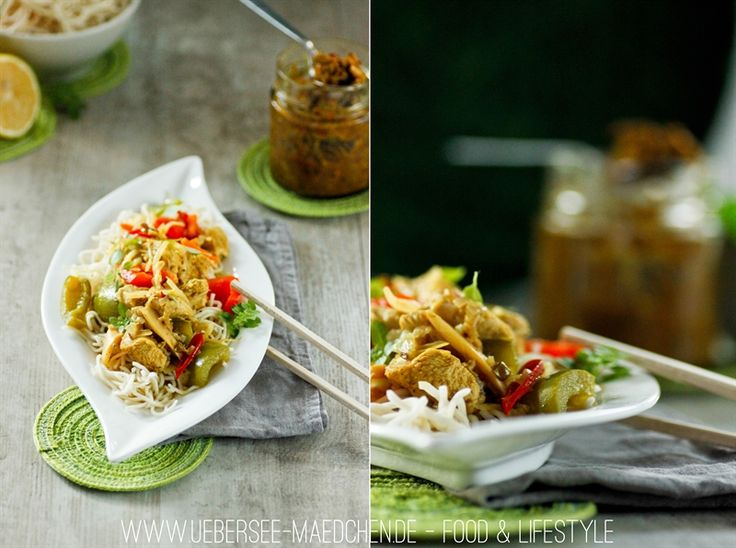 Rezept für Curry mit selbstgemachte gelbe Currypaste