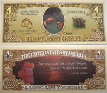 Happy Anniversary One Million Dollar Bill - FakeMillions.com