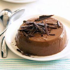 Πανακότα σοκολάτας