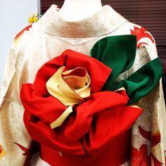 最後の振袖姿は、最高に美しく...♡着物を着るなら、ここから可愛い〔帯の結び方〕を選びましょう* | marry[マリー]