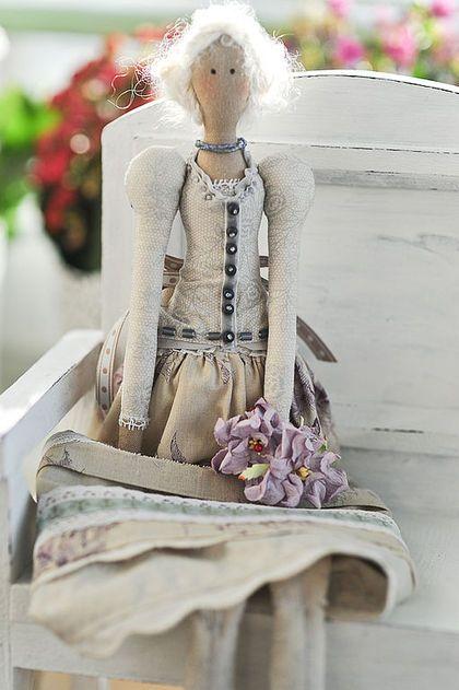 Куклы Тильды ручной работы. Ярмарка Мастеров - ручная работа Ника. Handmade.