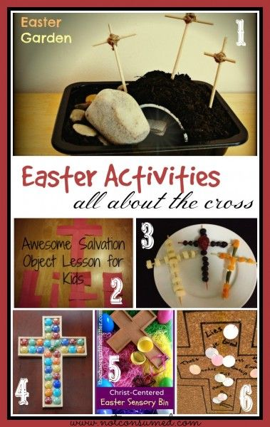 Easter Activities for kids that will lead them to the cross. You'll love these ideas!