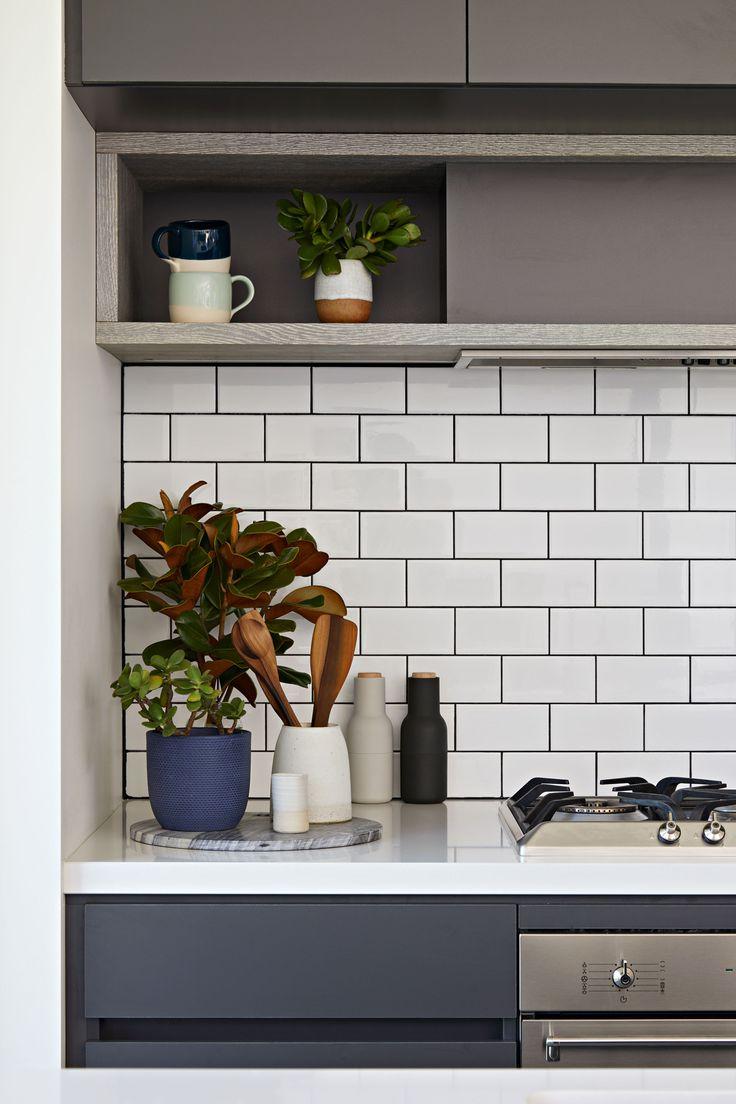 Brunswick Extension by Archiblox | Photographer: Tatjana Plitt www.archiblox.com.au #prefab #modular #archiblox #kitchen