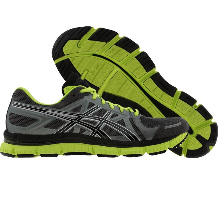 he Asics Gel Men's Running Shoes take supportive running to a new level of  comfort and flexibility. These running shoes were named for the 33 joints  in the ...