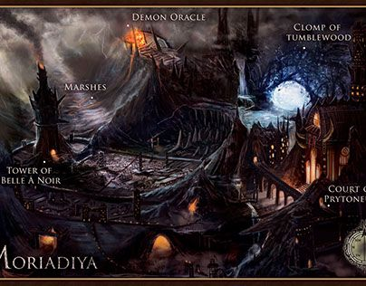 "Check out new work on my @Behance portfolio: ""Maps for games and fantasy novels""…"