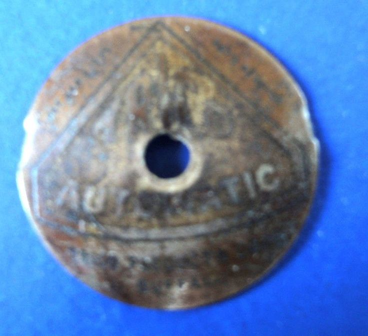 Trico Automatic Vintage Trico Products Buffalo NY Brass Token