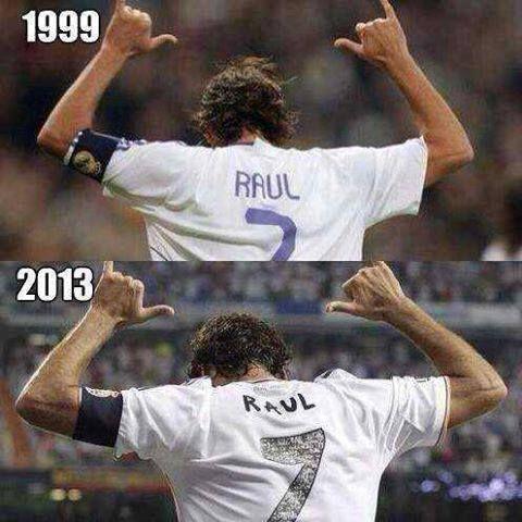 ¡¡ Por siempre el verdadero #7 del Real Madrid #Raul!!