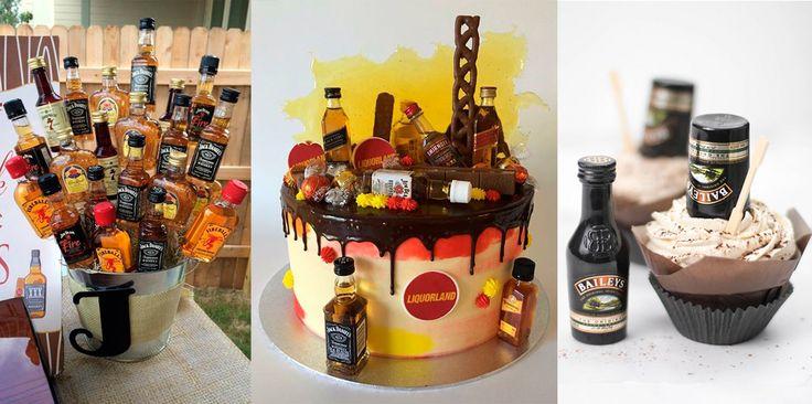 Completa las mesas temáticas de tu boda con detalles hechos con mini botellas de licor. Ideas para una boda única y original.