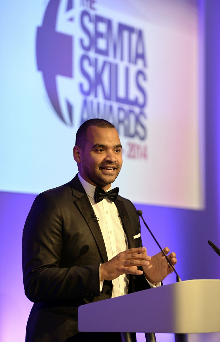 Our host for the evening TV presenter Michael Underwood