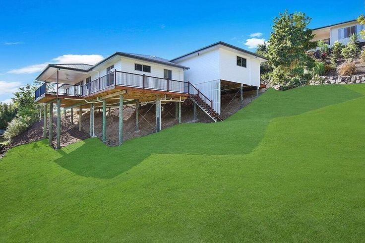 Cooroy 205 modified split design just completed in Buderim, Queensland | Tru-Built Builders Queensland