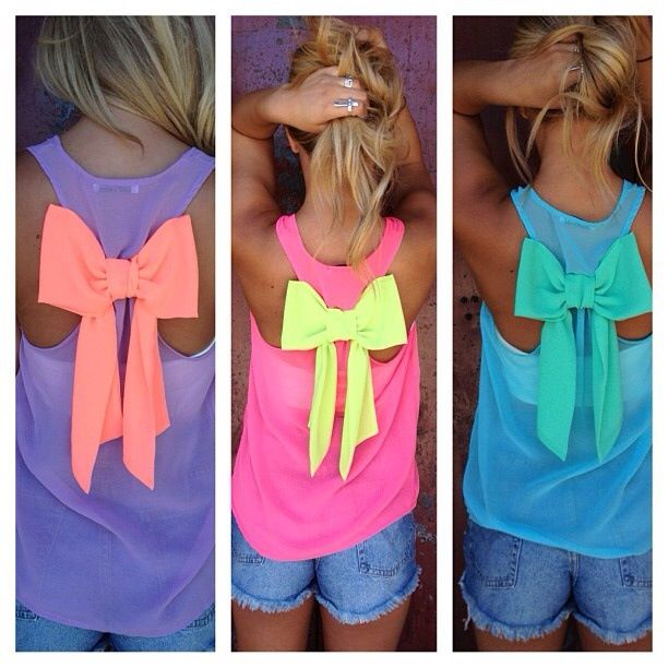 Camiseta para niña. Como cambia con el lazo!!