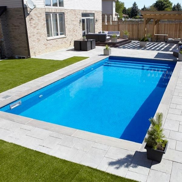 1000 id es sur le th me piscine creus e sur pinterest for Piscine rectangulaire pas cher