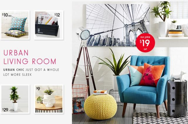 Who Knew Kmart Australia Sold Chic and Modern Small Space Decor?
