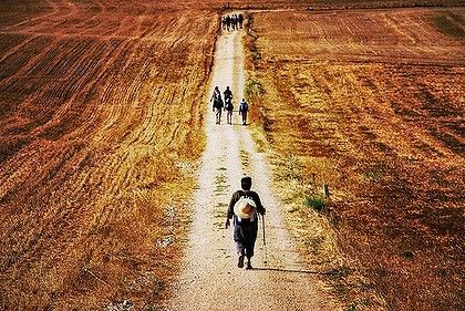 "Can I walk the Camino alone? ""From the month of May to October you are never alone on the Way. This is the ideal place to meet people"""