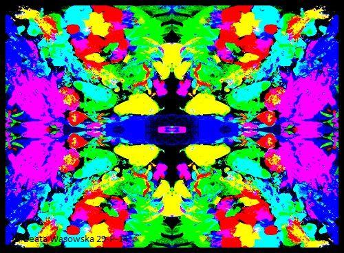 pattern design, paleta, Beata Wąsowska,