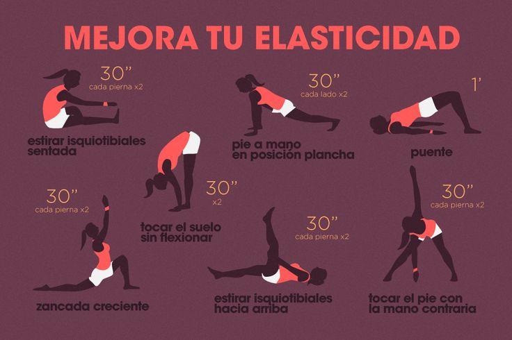 Te proponemos realizar estos ejercicios para mejorar tu #elasticidad. #decathlon #deporte