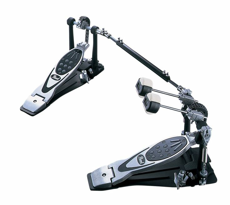 Pearl Drum Pedals Powershifter Eliminator  The P-2002C is a double pedal complete set based on the revolutionary P-2000C. Pearl's PowerShifter Eliminator provides the ultimate in player tunability and control. With a choice of 6 different cams (4 included and 2 sold separately), 4 beater faces, PowerShifter functionality and complete control over pedal surface grip or slip, this is the most tuner friendly pedal available.
