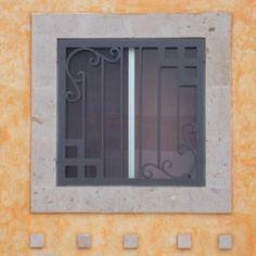 Foto de diseños rejas para ventanas modernas para casa