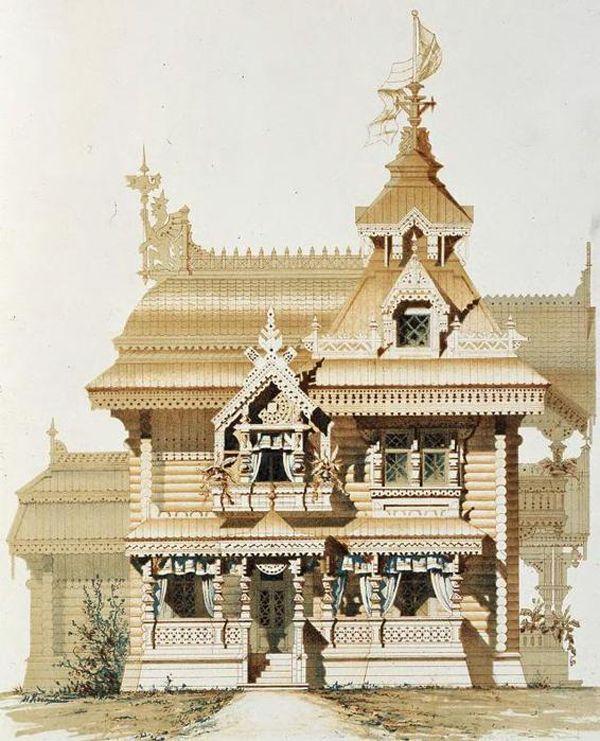 Искусство домовой резьбы