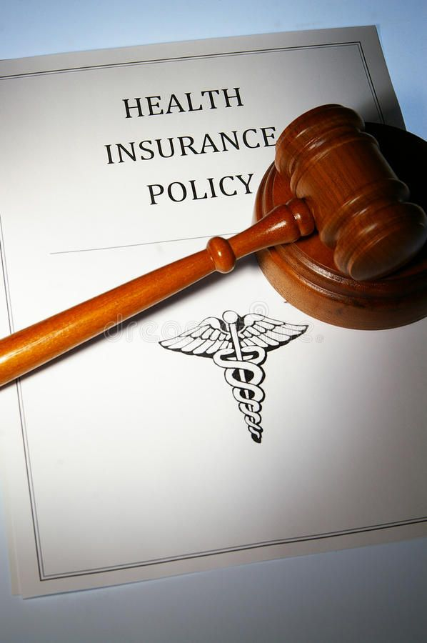 Health Insurance Policy And Law Gavel Ad Insurance Health