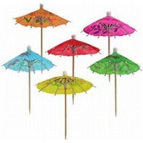 Cocktail Umbrella Box of 144
