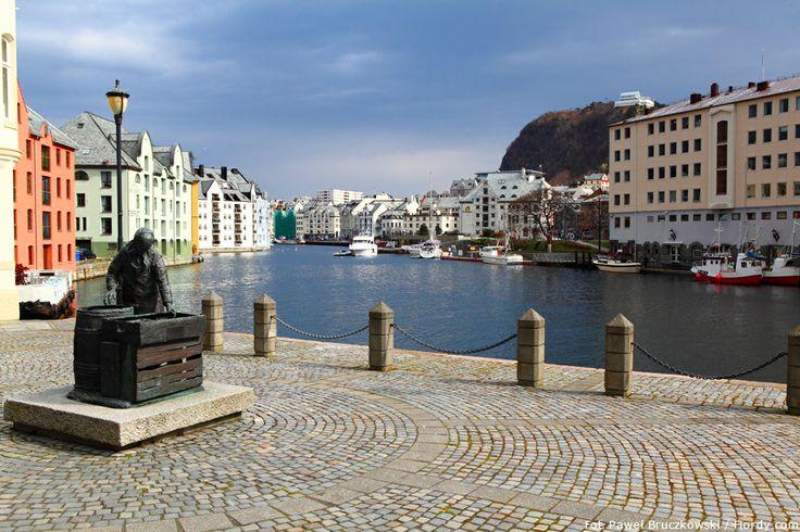 Ålesund - centrum miasta.  #Ålesund #Alesund #Norwegia